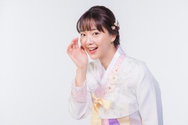 韓国美人女性2